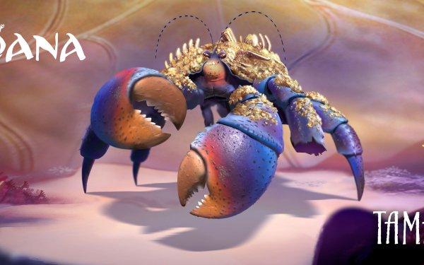 Movie Moana Crab Tamatoa HD Wallpaper | Background Image