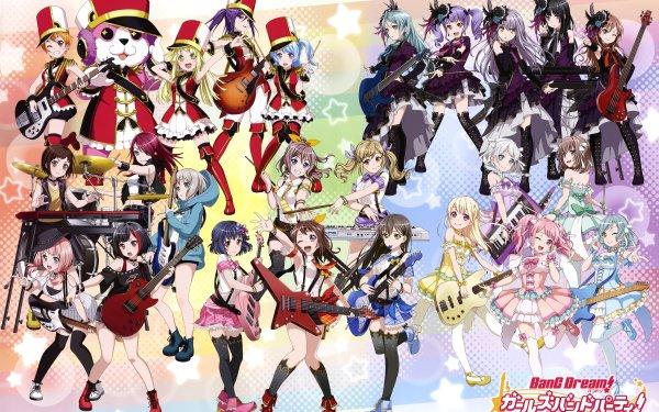 Anime BanG Dream! Fondo de pantalla HD | Fondo de Escritorio