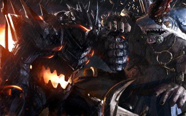 Video Game Overwatch Roadhog Reinhardt HD Wallpaper | Background Image