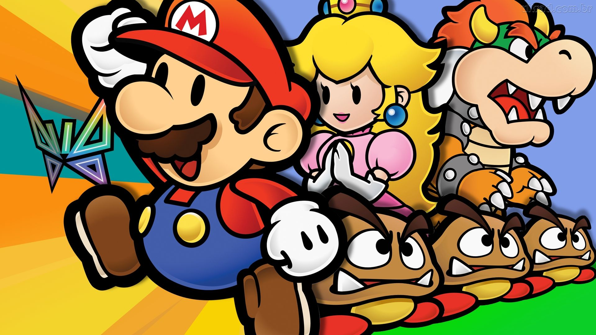 Image result for Paper Mario Thousand Year Door 1920x1080
