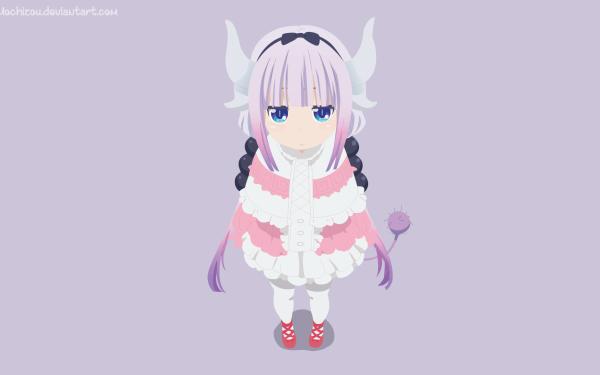 Anime Miss Kobayashi's Dragon Maid Kanna Kamui HD Wallpaper   Background Image