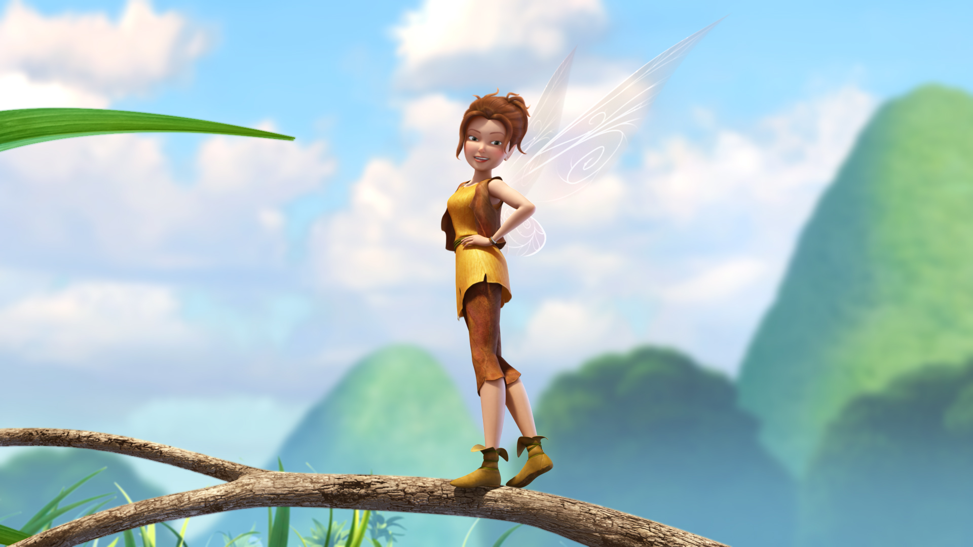 Tinker Bell And The Pirate Fairy Zarina Full HD Wallpaper