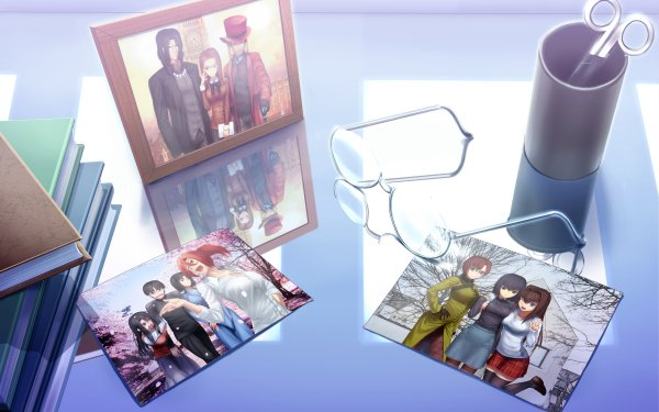 Anime Kara no Kyōkai Cornelius Alba Touko Aozaki Araya Souren Aoko Aozaki Mikiya Kokutou Photography Scissors Glasses HD Wallpaper | Background Image