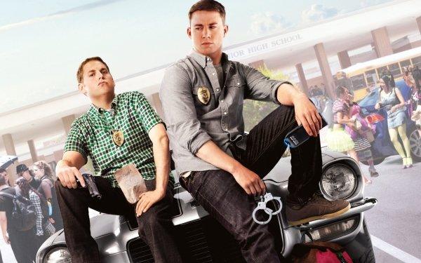 Movie 21 Jump Street Channing Tatum Jonah Hill HD Wallpaper | Background Image