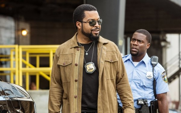 Movie Ride Along 2 Kevin Hart Ice Cube Cop Police HD Wallpaper | Background Image