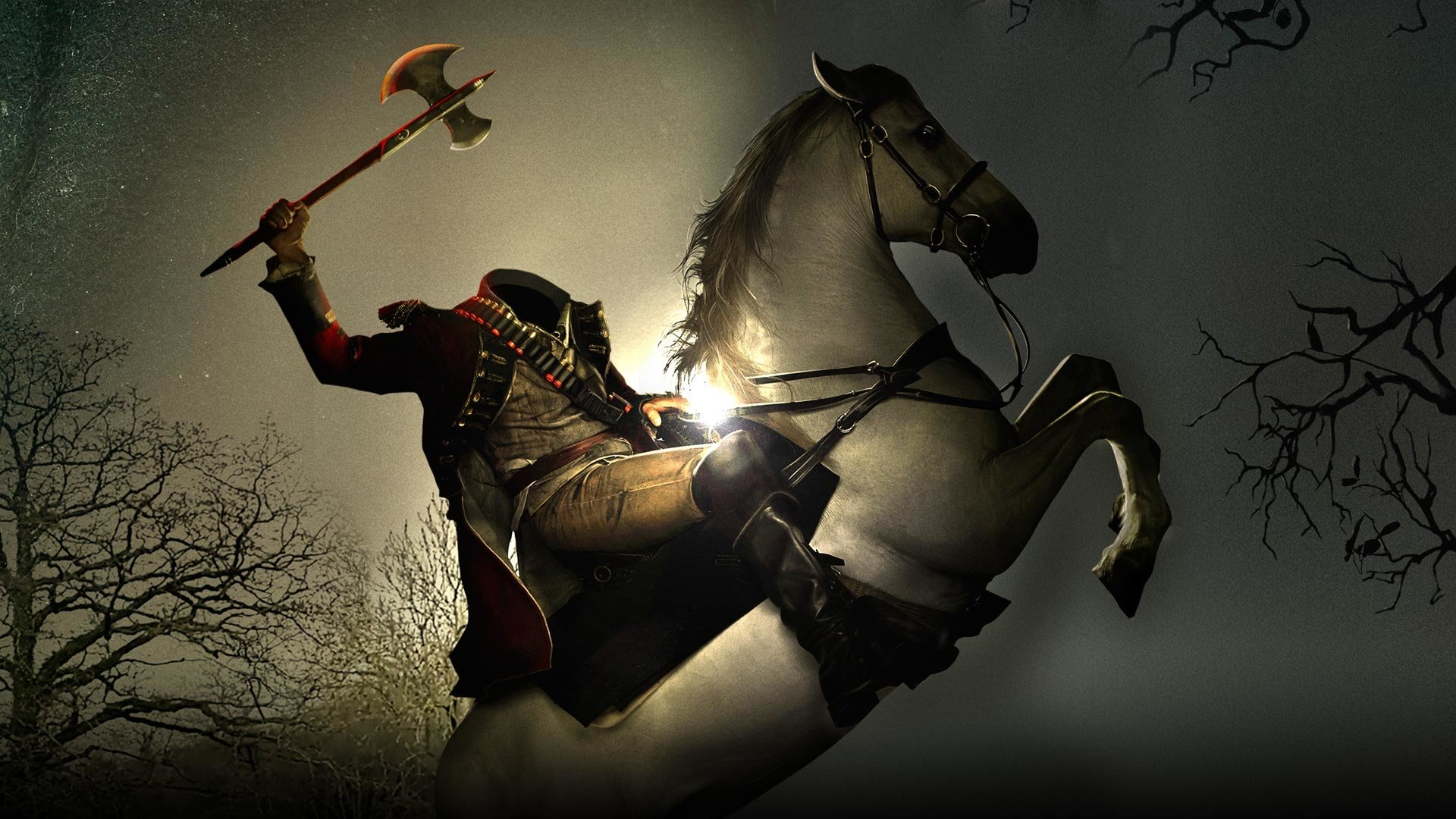 sleepy hollow, headless horseman full hd wallpaper and background