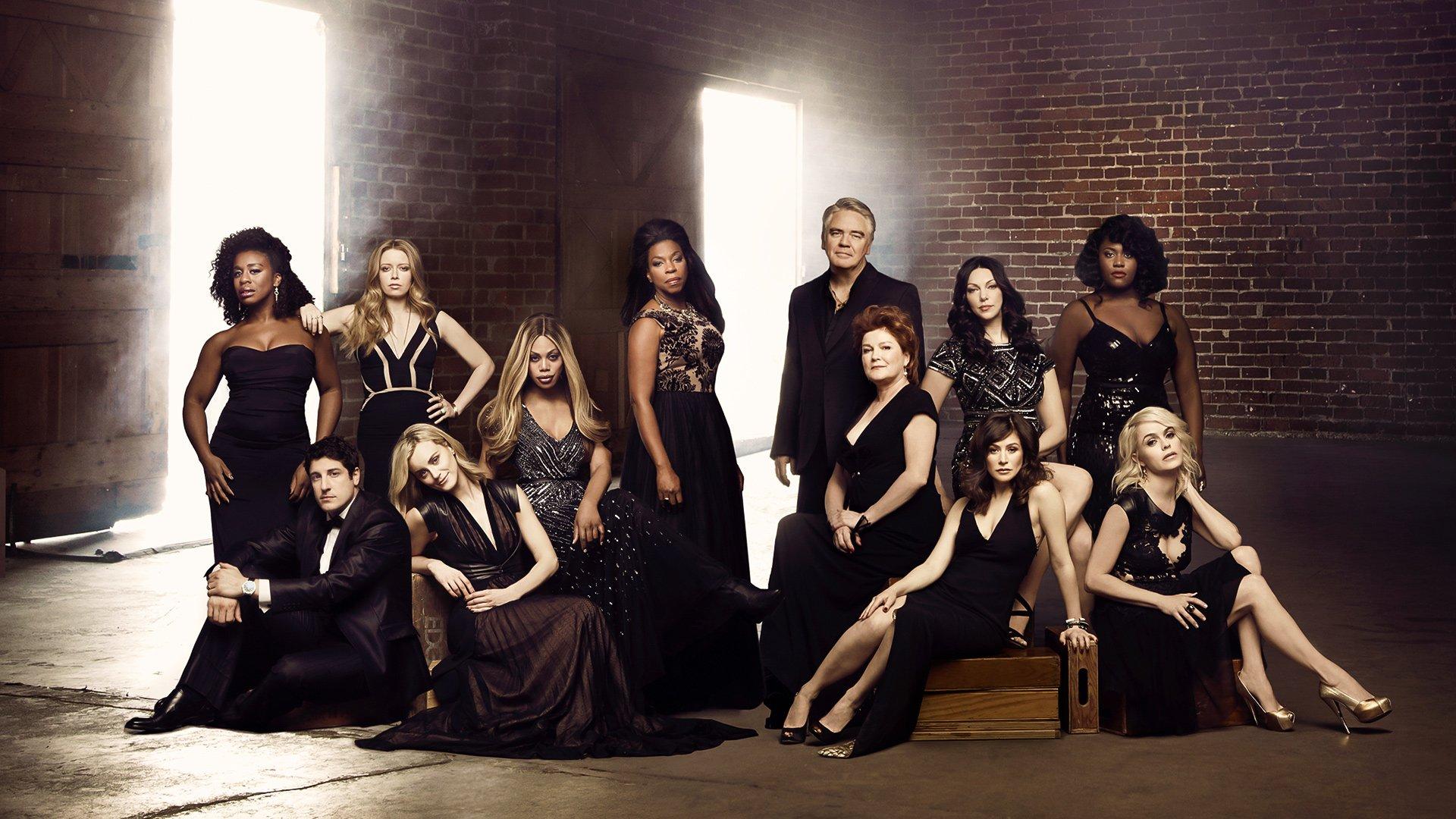 Orange Is The New Black Cast Photo Shoot Hd Wallpaper Background