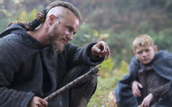 TV Show Vikings Ragnar Lothbrok Bjorn Lothbrok HD Wallpaper | Background Image