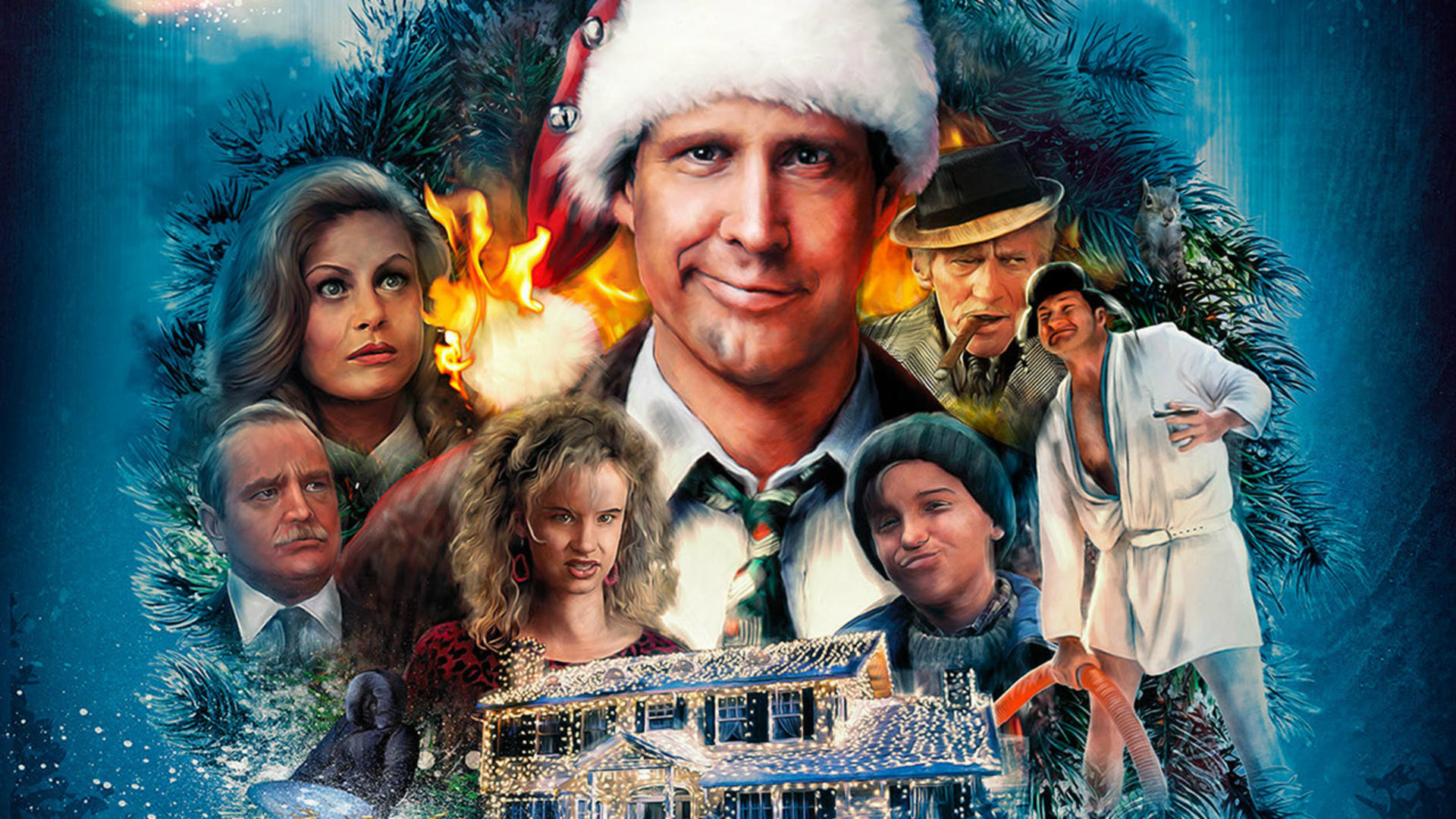 National Lampoon S Christmas Vacation Hd Wallpaper Background Image 1920x1080 Id 808062