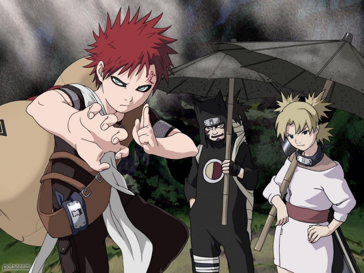 Anime - Naruto  Sand Gaara (Naruto) Wallpaper