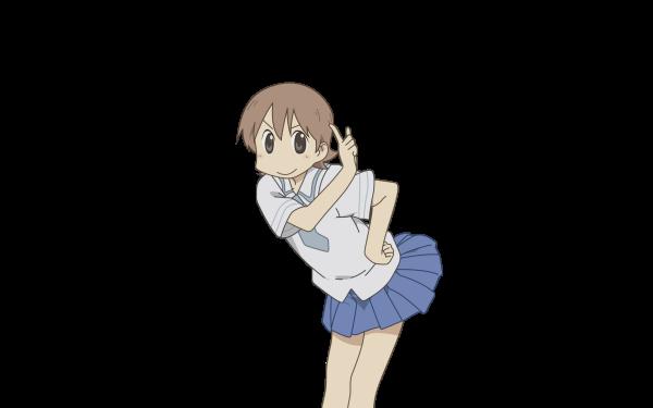 Anime Nichijō Yuuko Aioi HD Wallpaper | Background Image