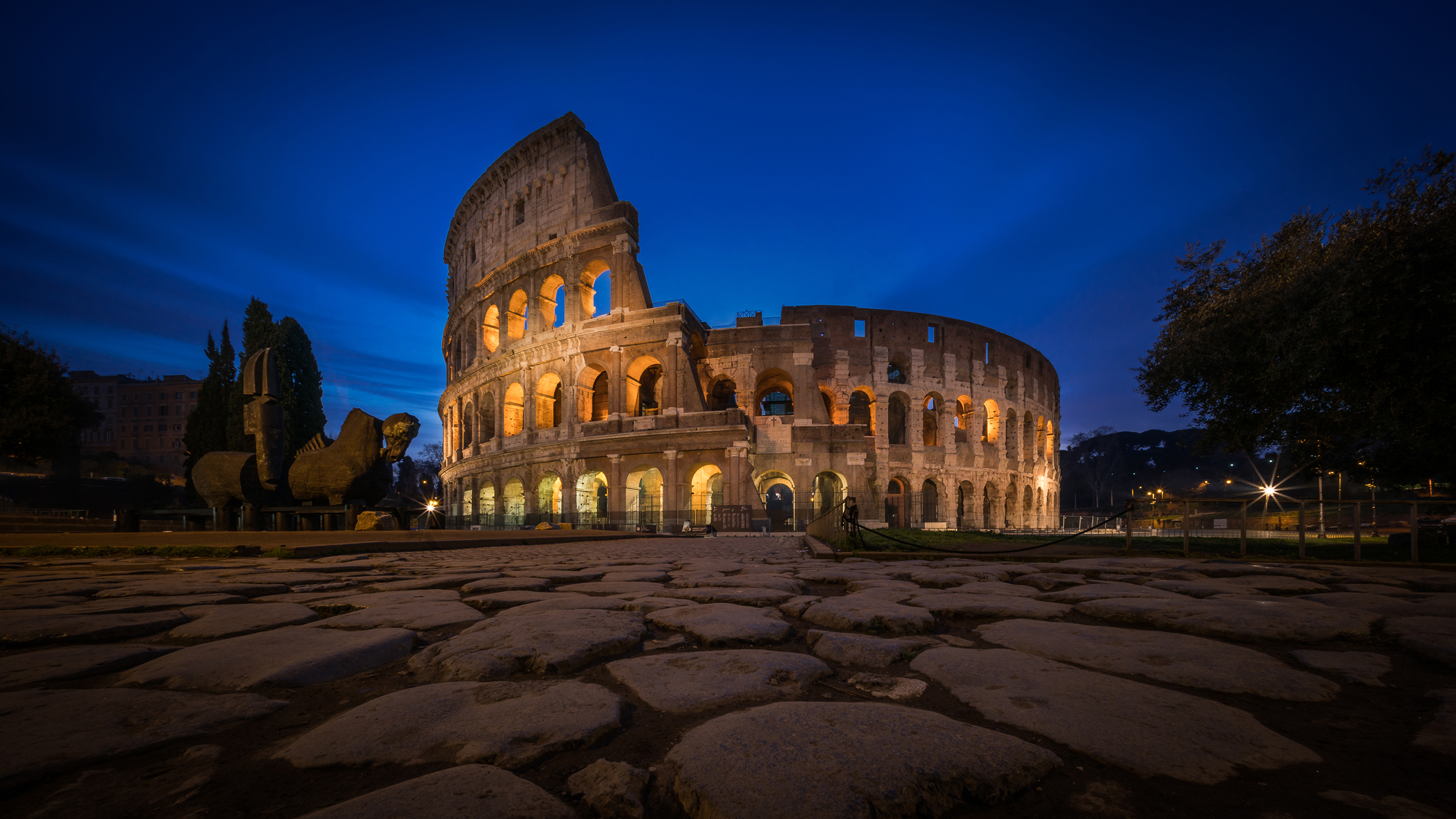 Rome, Colosseum HD Wallpaper