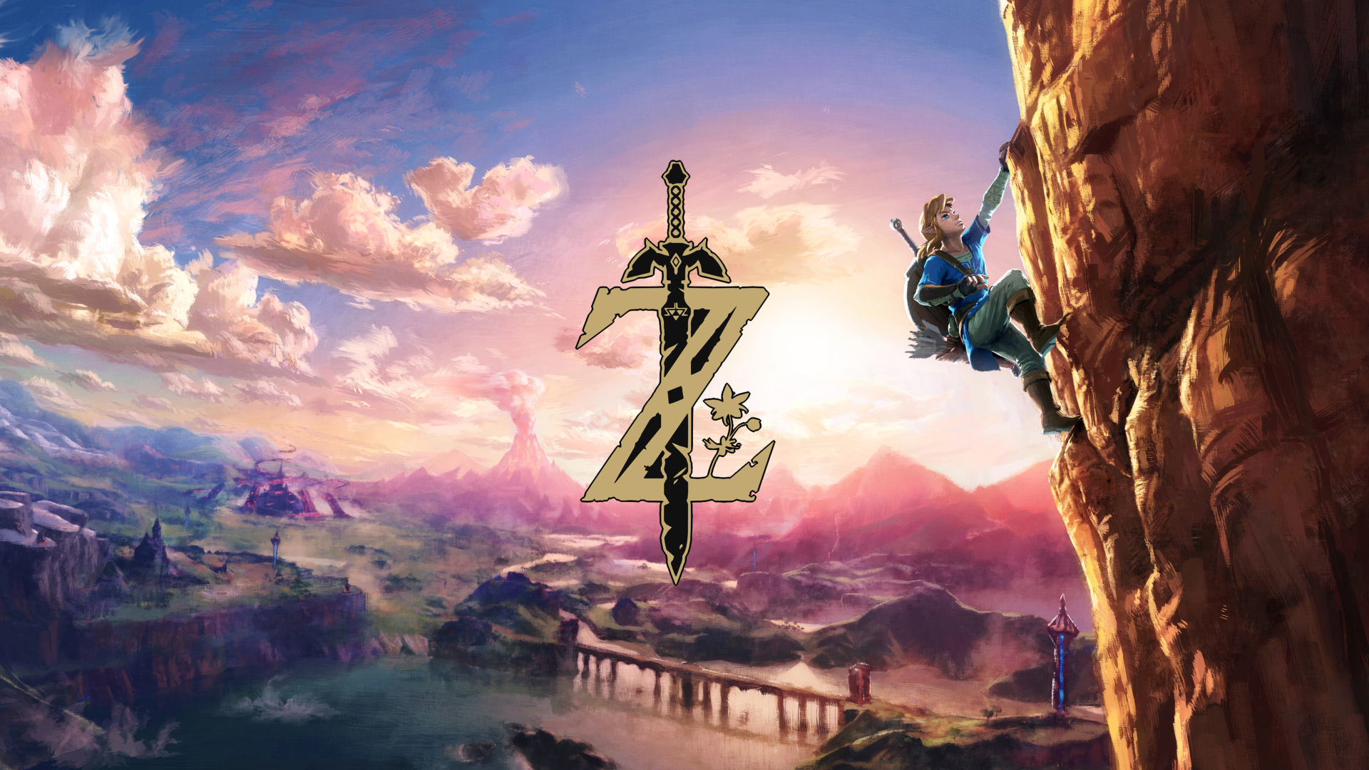 Video Game - The Legend of Zelda: Breath of the Wild  Link Hyrule Wallpaper
