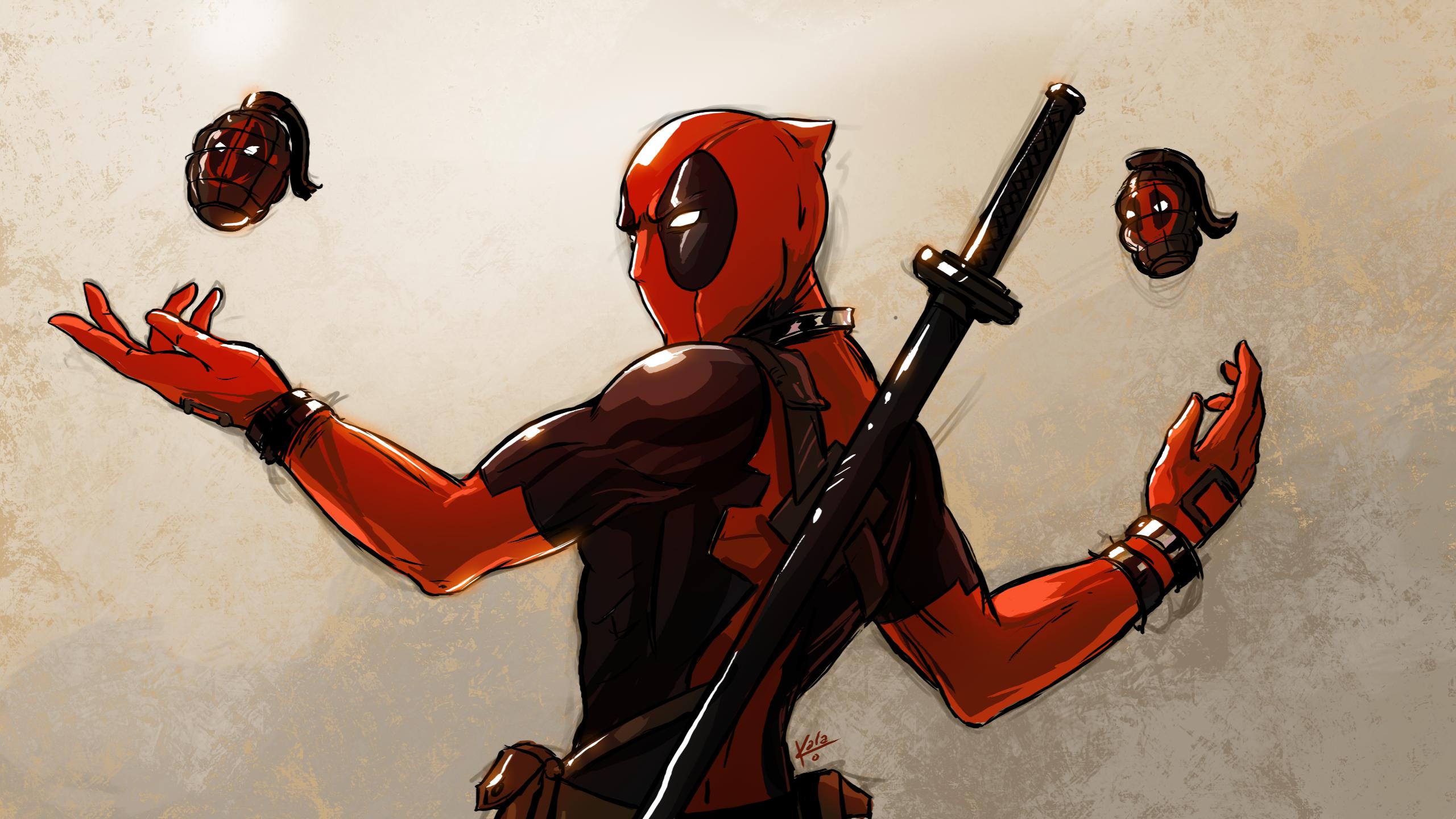 Deadpool drawing by kalasketch