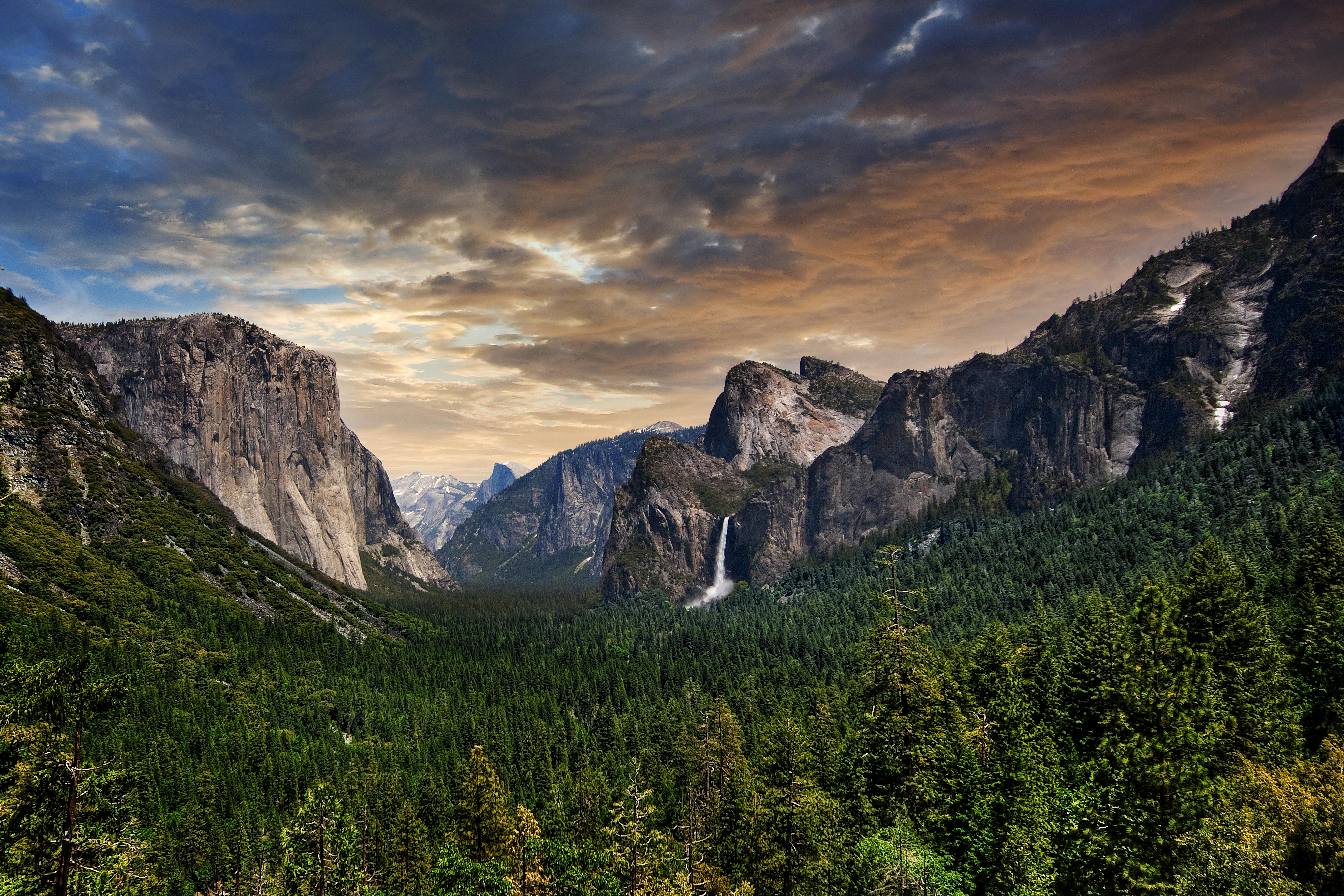 Parque Nacional De Yosemite 8k Ultra Fondo De Pantalla Hd