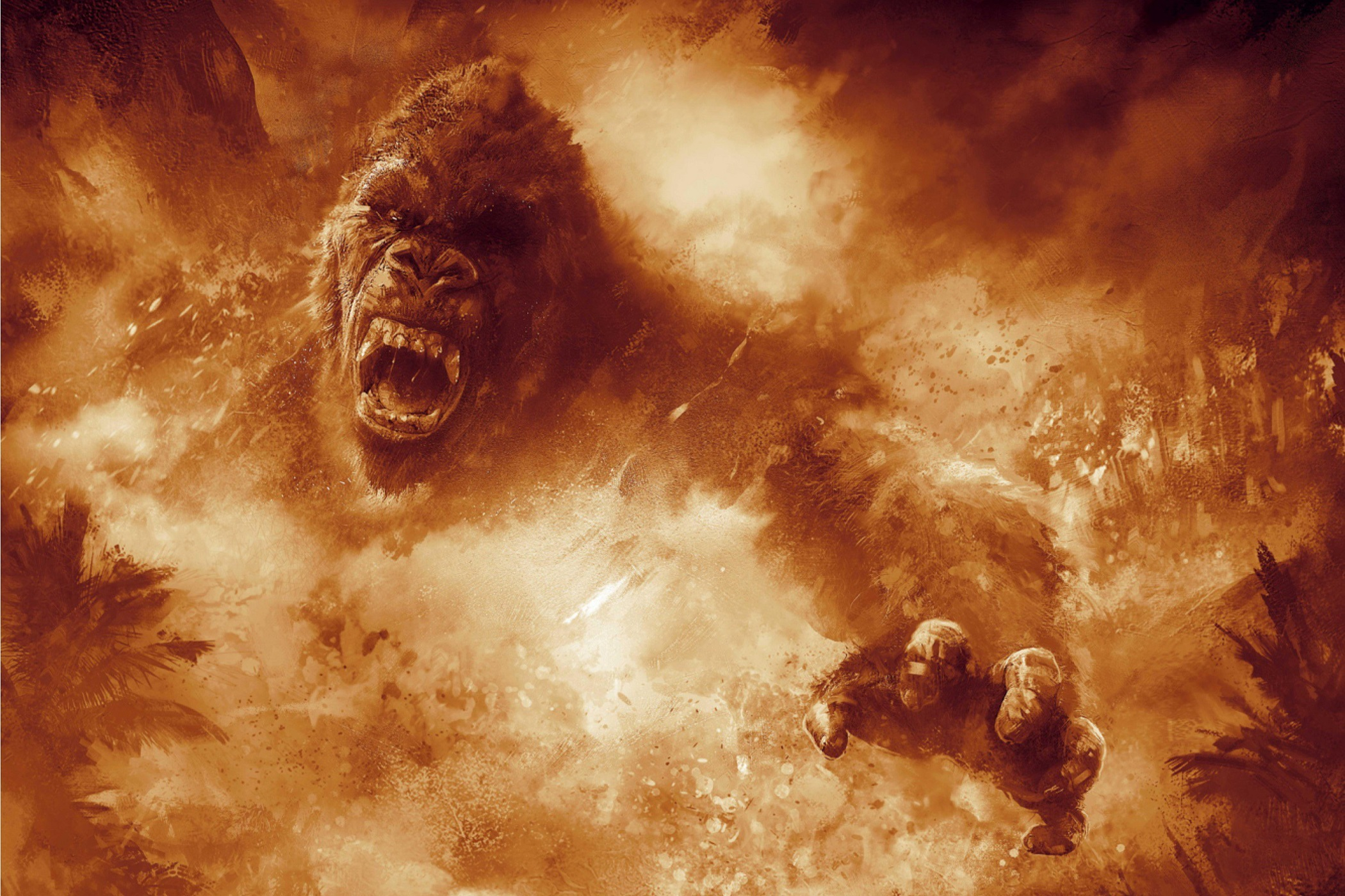 Kong: Skull Island HD Wallpaper