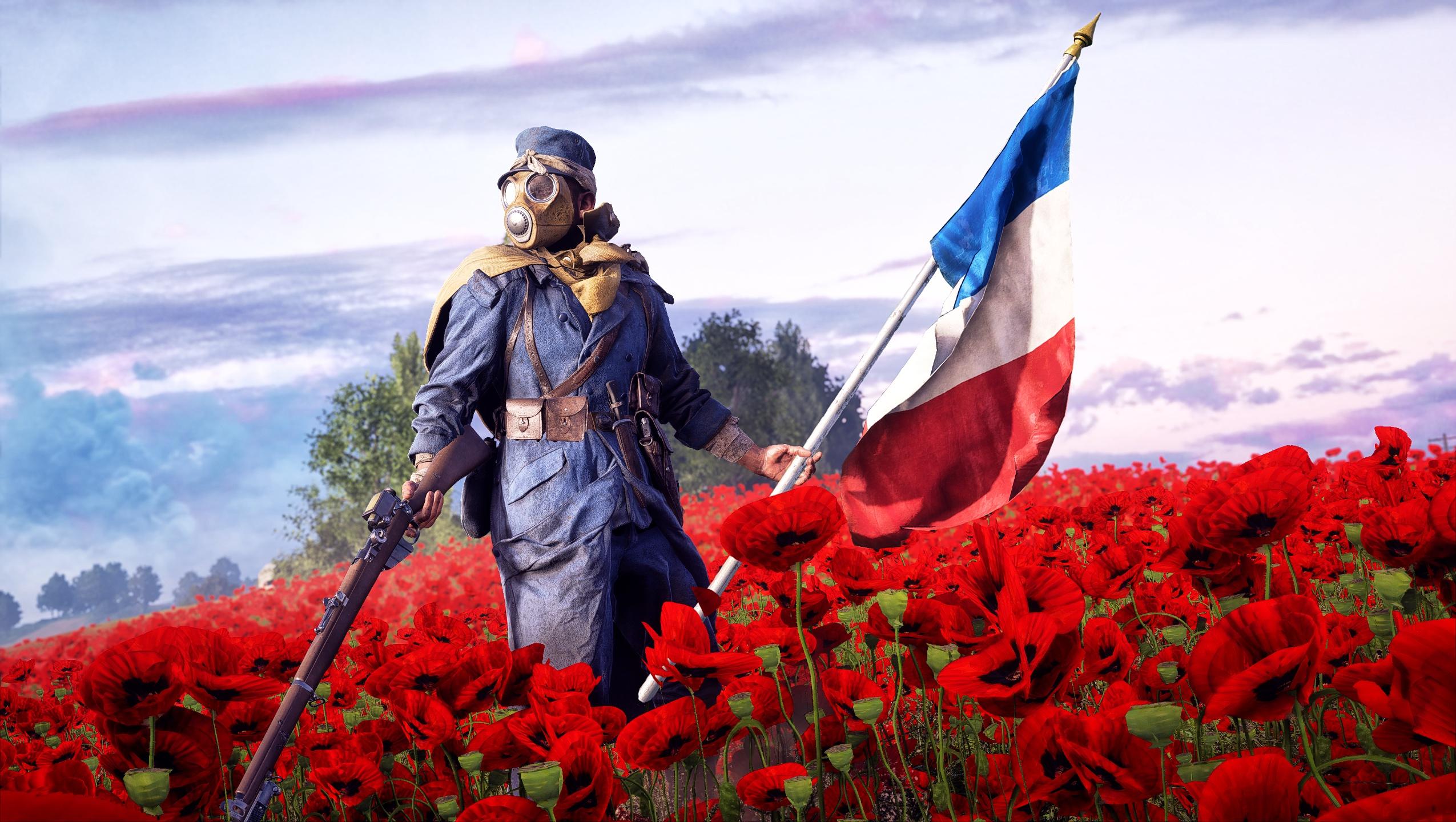 Battlefield 1 hd wallpaper background image 2550x1440 - Battlefield 1 french soldier ...