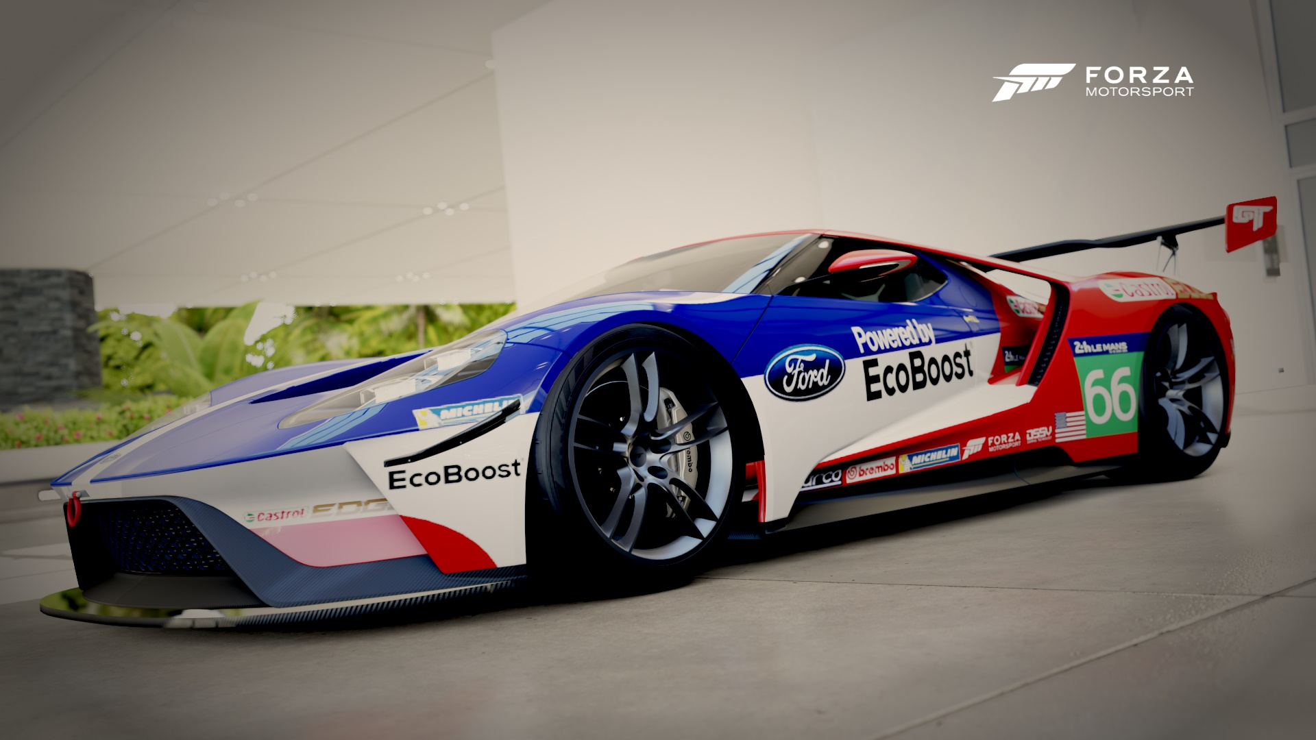 Video Game Forza Motorsport  Ford Gt Ford Wallpaper
