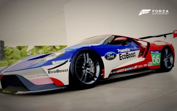 Video Game Forza Motorsport 6 Forza Ford GT Ford HD Wallpaper | Background Image