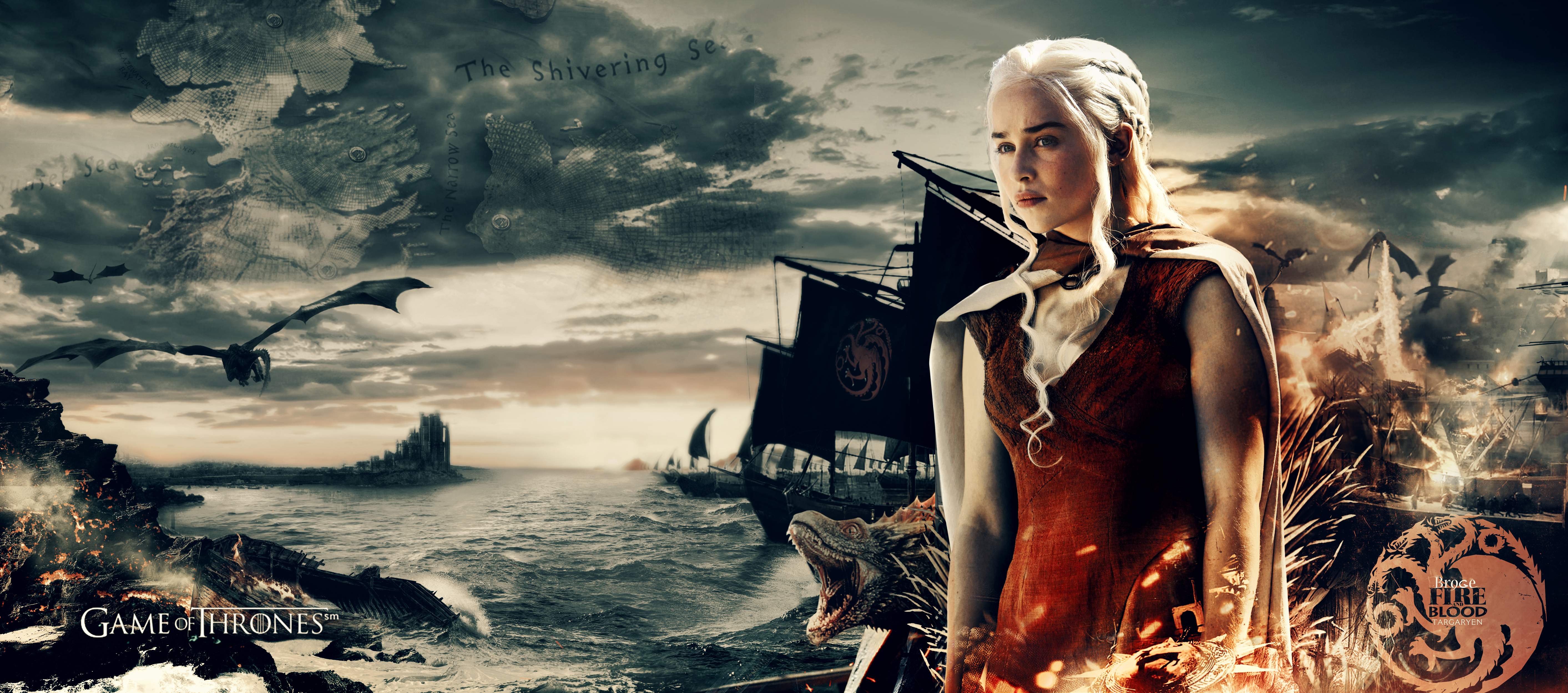 161 4k Ultra Hd Daenerys Targaryen Wallpapers Background Images