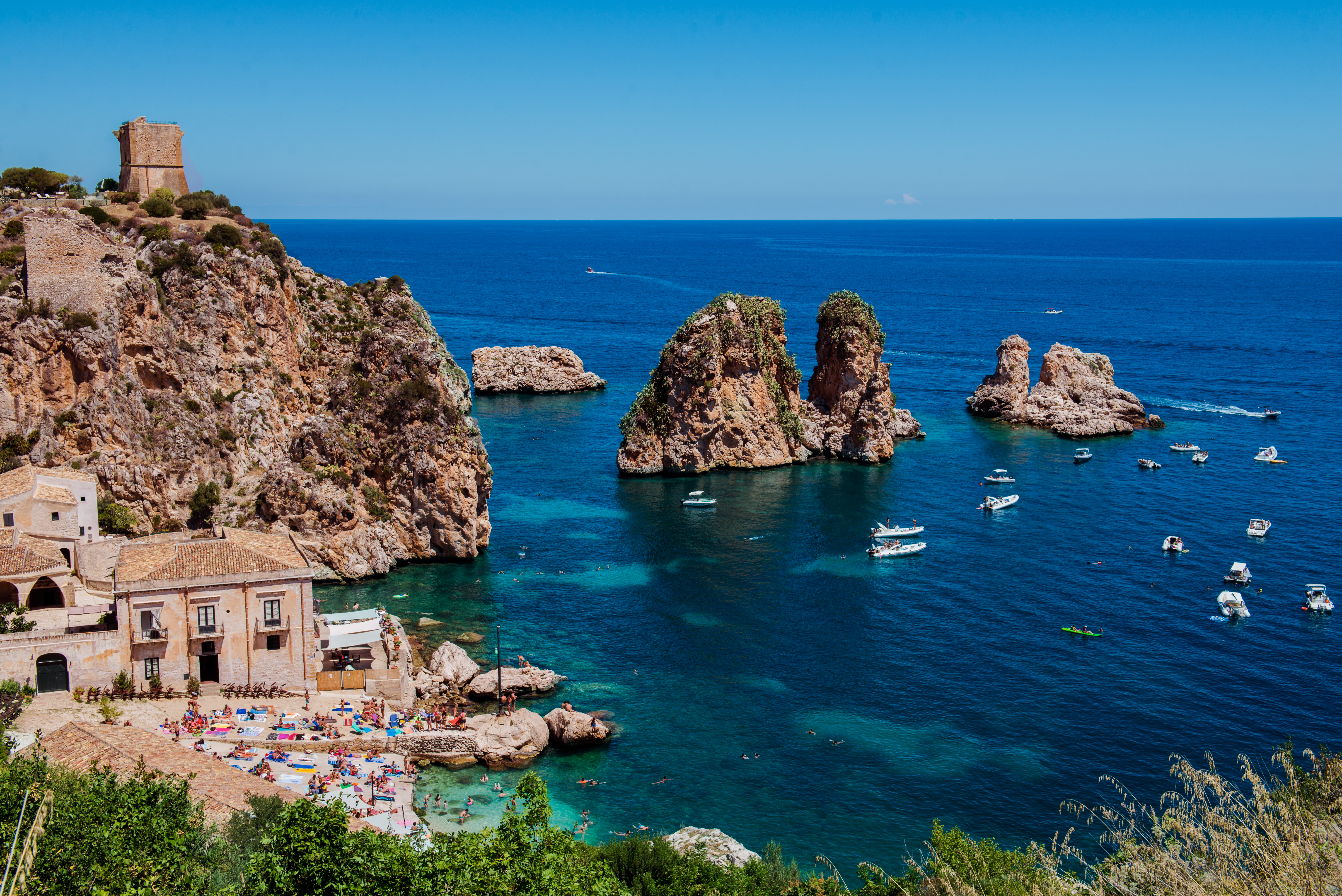 Coast Of Sicily 5k Retina Ultra Hd Wallpaper Background Image 5923x3954 Id 819714 Wallpaper Abyss