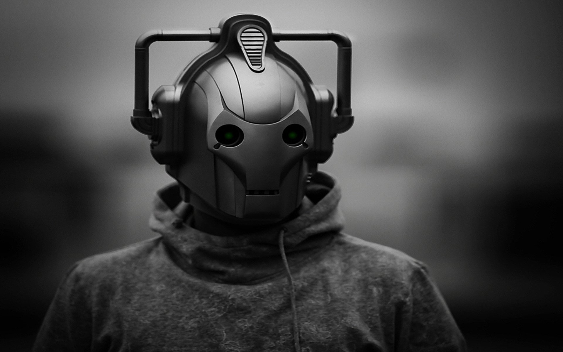 TV Show - Doctor Who  Cyborg Cyberman (Doctor Who) Wallpaper