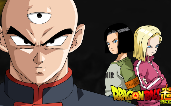 Anime Dragon Ball Super Dragon Ball Tien Shinhan Android 18 Android 17 HD Wallpaper | Background Image