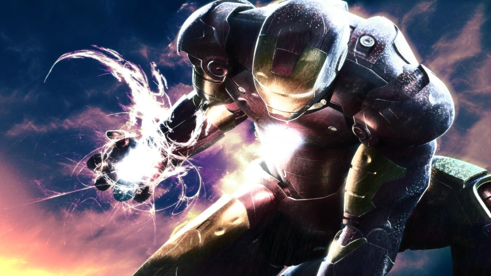 Movie - Iron Man  Comics Energy Avengers Superhero Tony Stark Comic Fantasy Wallpaper
