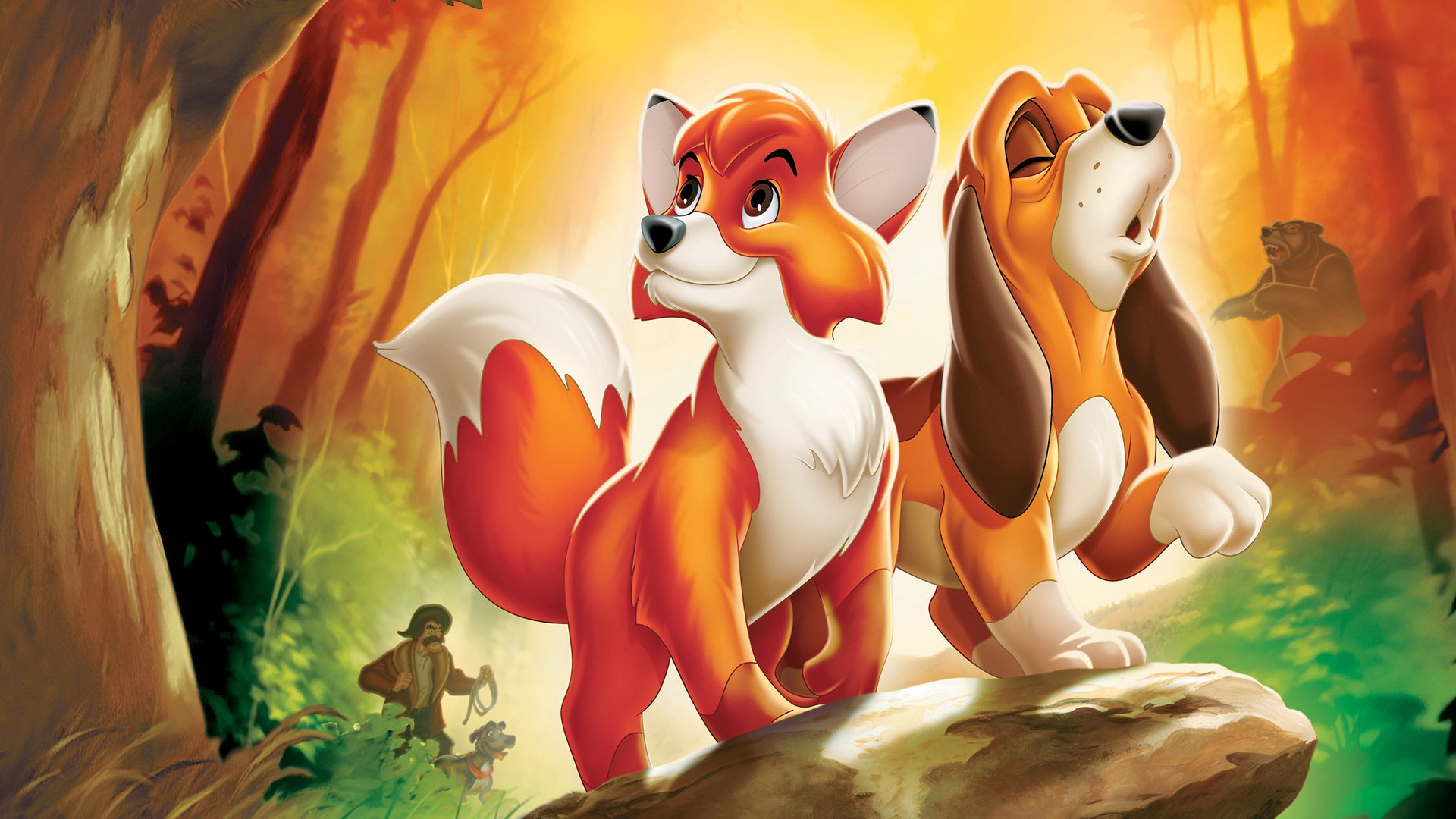 7 The Fox And The Hound Hd Wallpapers Background Images