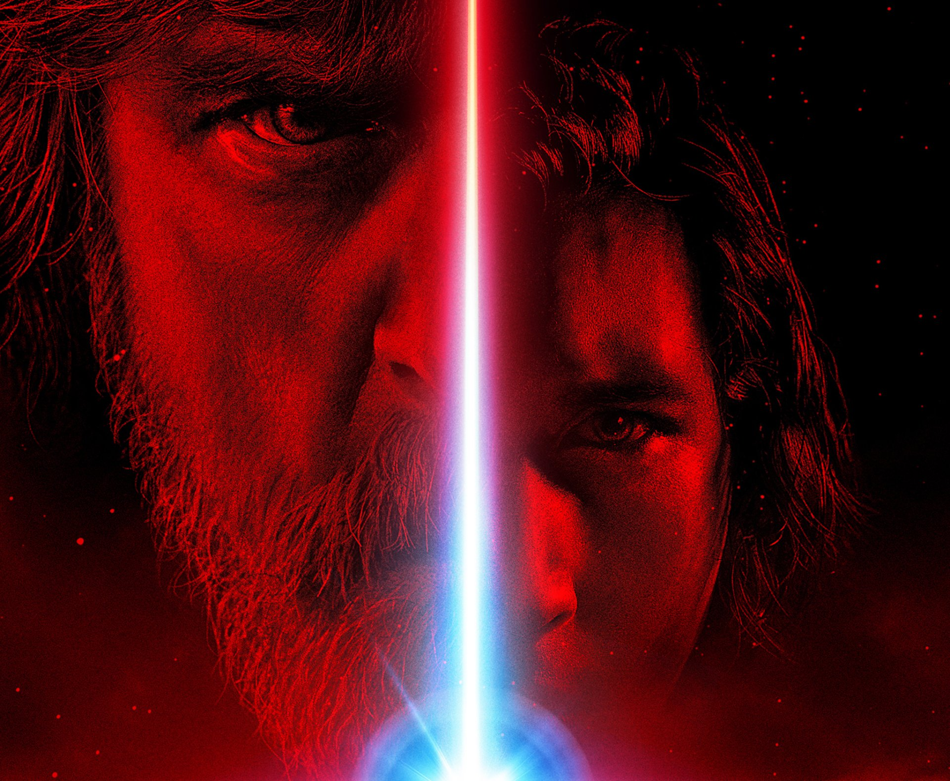 Movie - Star Wars Episode VIII: The Last Jedi  Mark Hamill Adam Driver Luke Skywalker Kylo Ren Star Wars Wallpaper