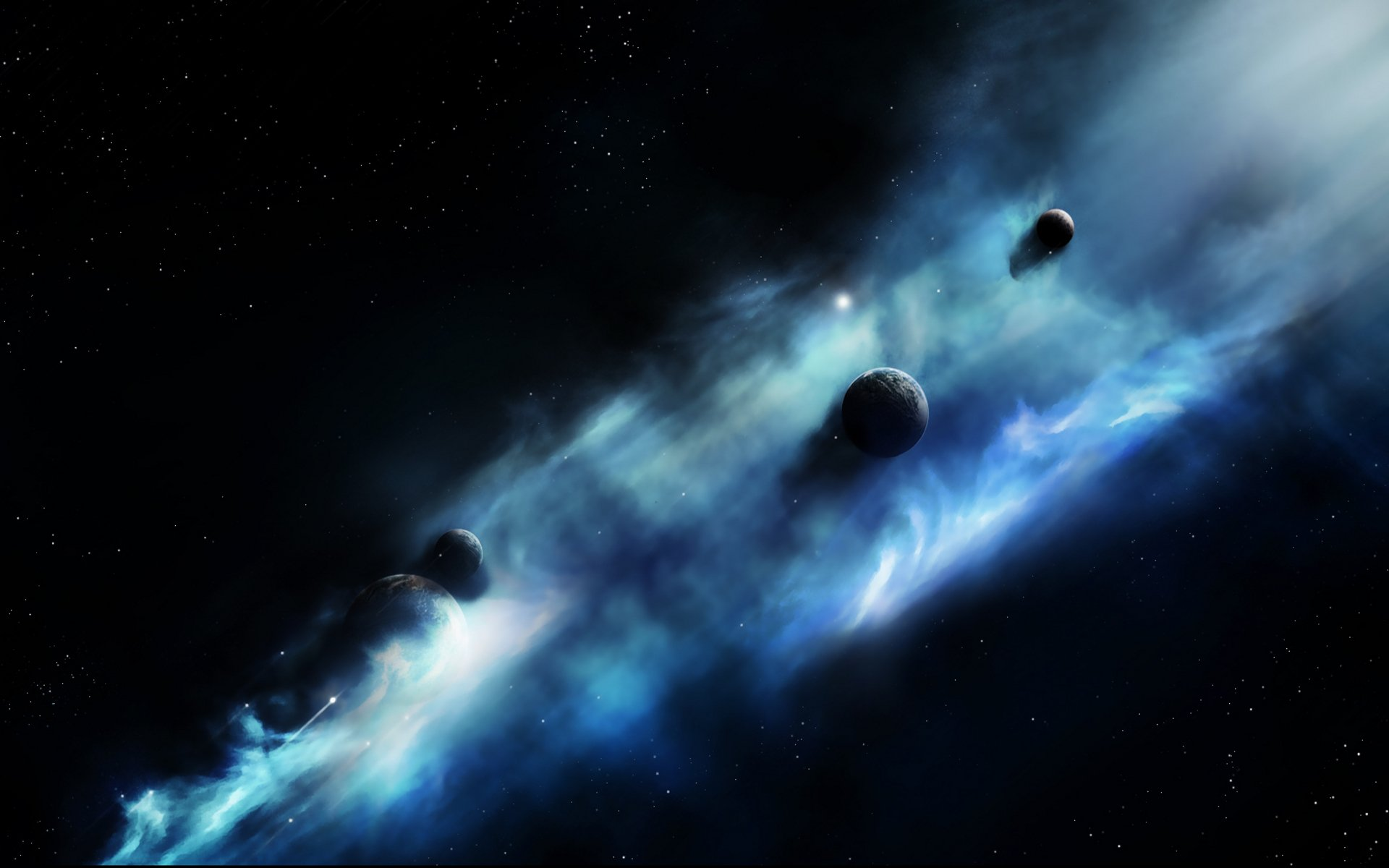 Sci Fi - Planets  Planet Galaxy Sci Fi Space Wallpaper