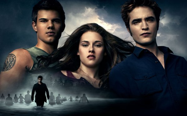 Movie The Twilight Saga: Eclipse Bella Swan Kristen Stewart Edward Cullen Robert Pattinson Taylor Lautner Jacob Black HD Wallpaper | Background Image