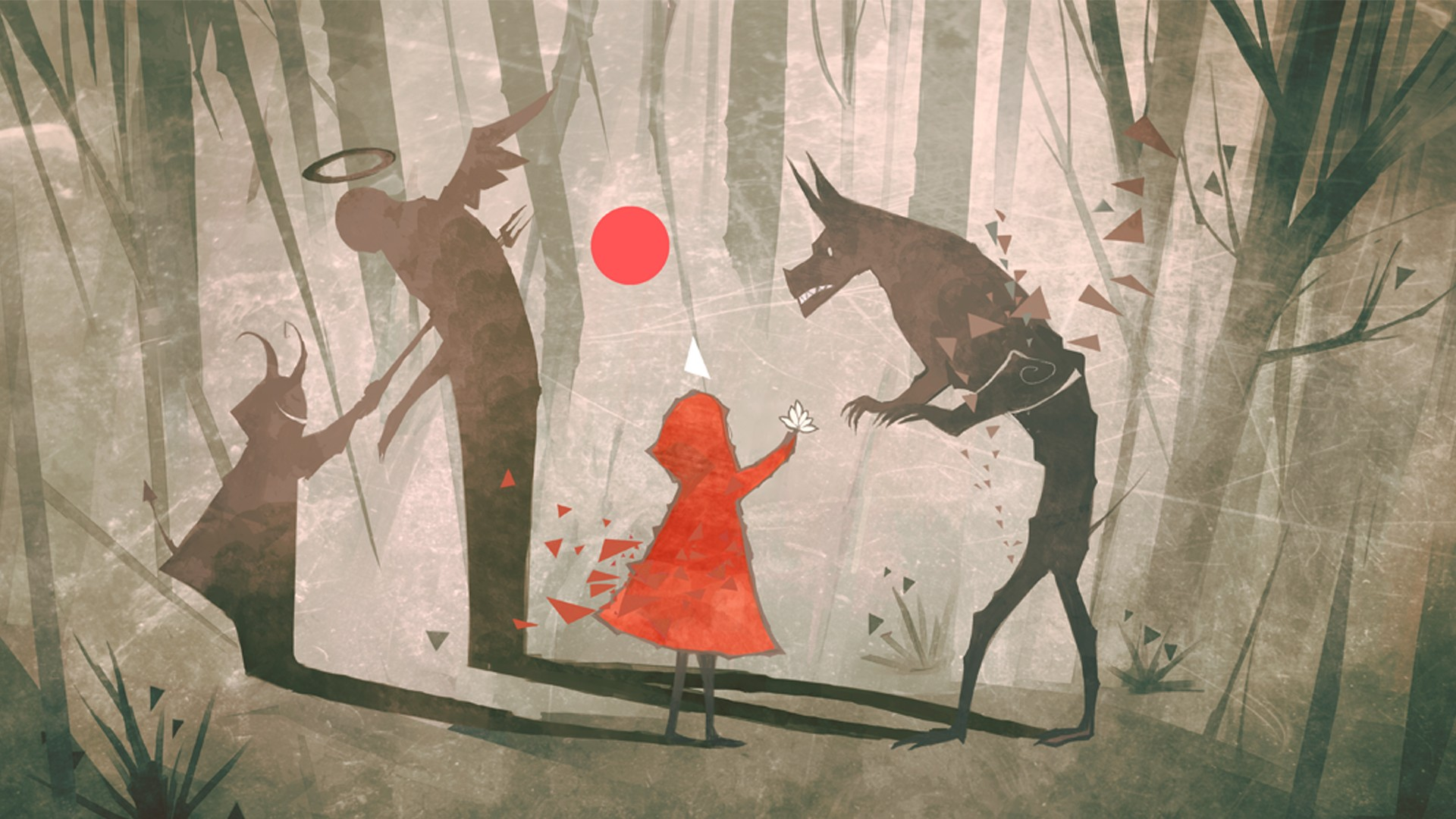 Red Riding Hood Hd Wallpaper Background Image 1920x1080 Id
