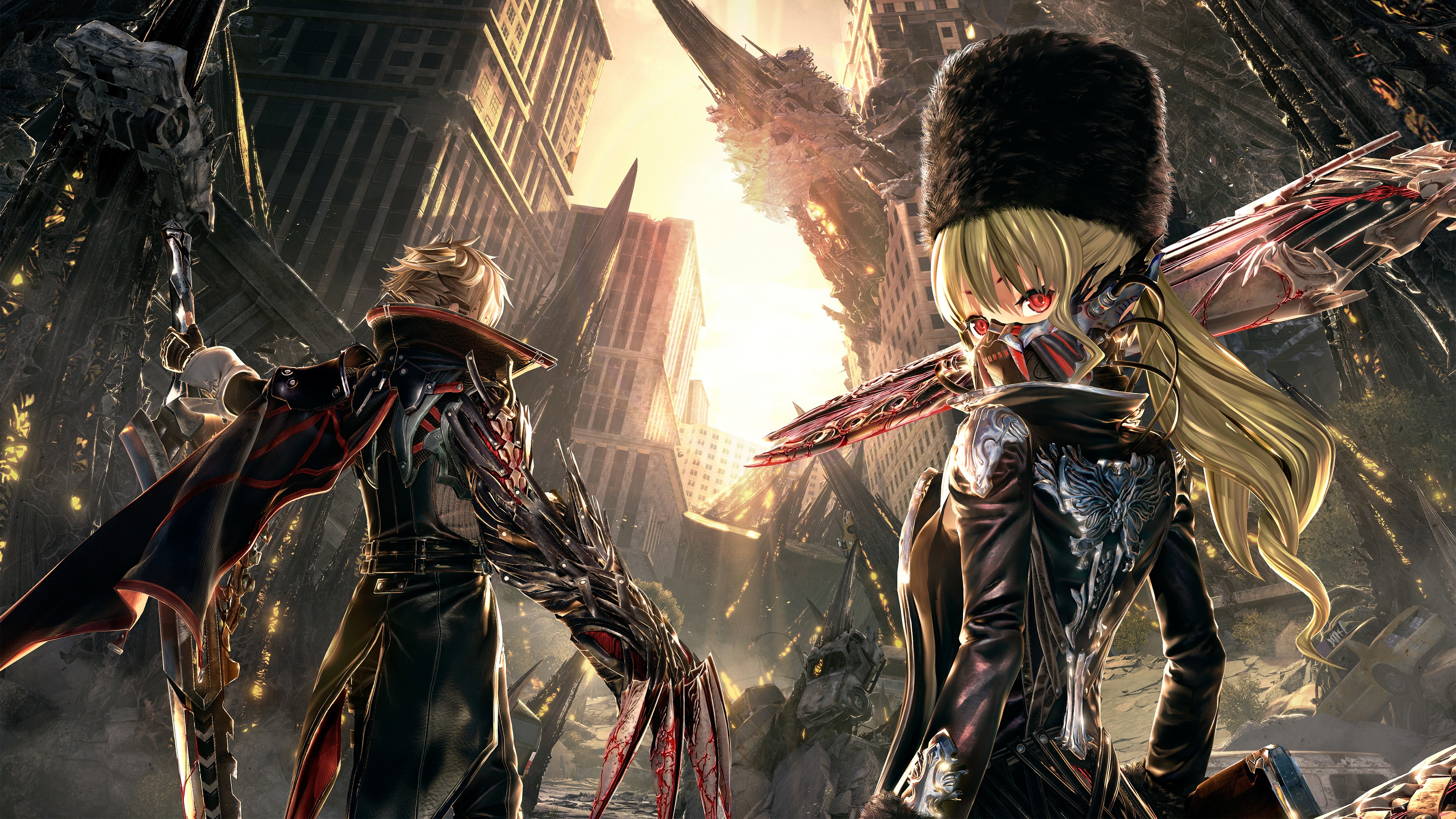 10 Code Vein Hd Wallpapers Background Images Wallpaper Abyss