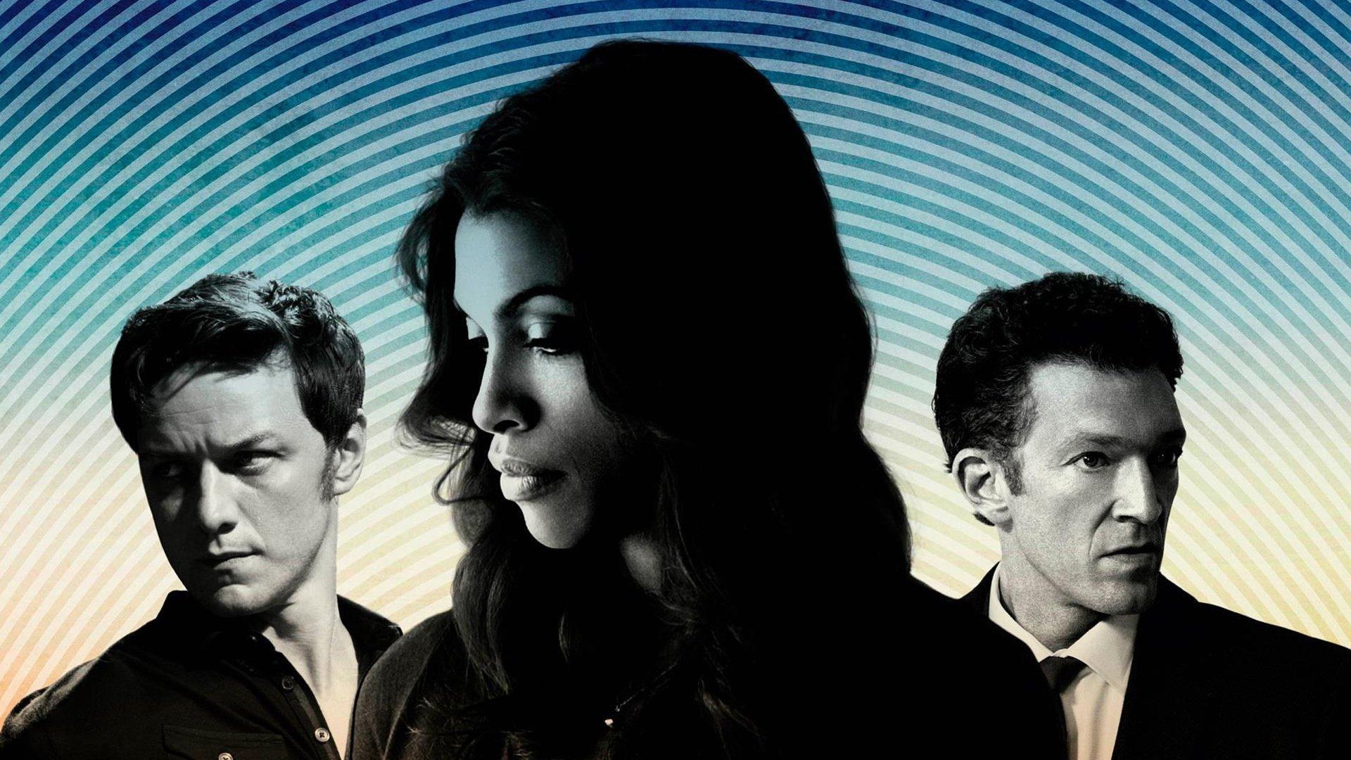 Movie - Trance  James McAvoy Vincent Cassel Rosario Dawson Wallpaper