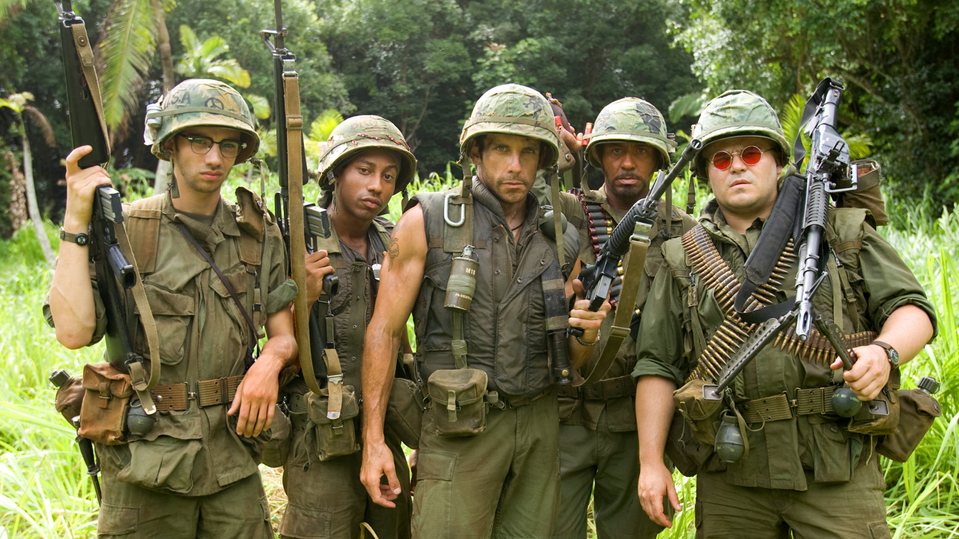 Tropic Thunder HD Wallpaper | Sfondo | 1920x1080 | ID:827639 - Wallpaper  Abyss