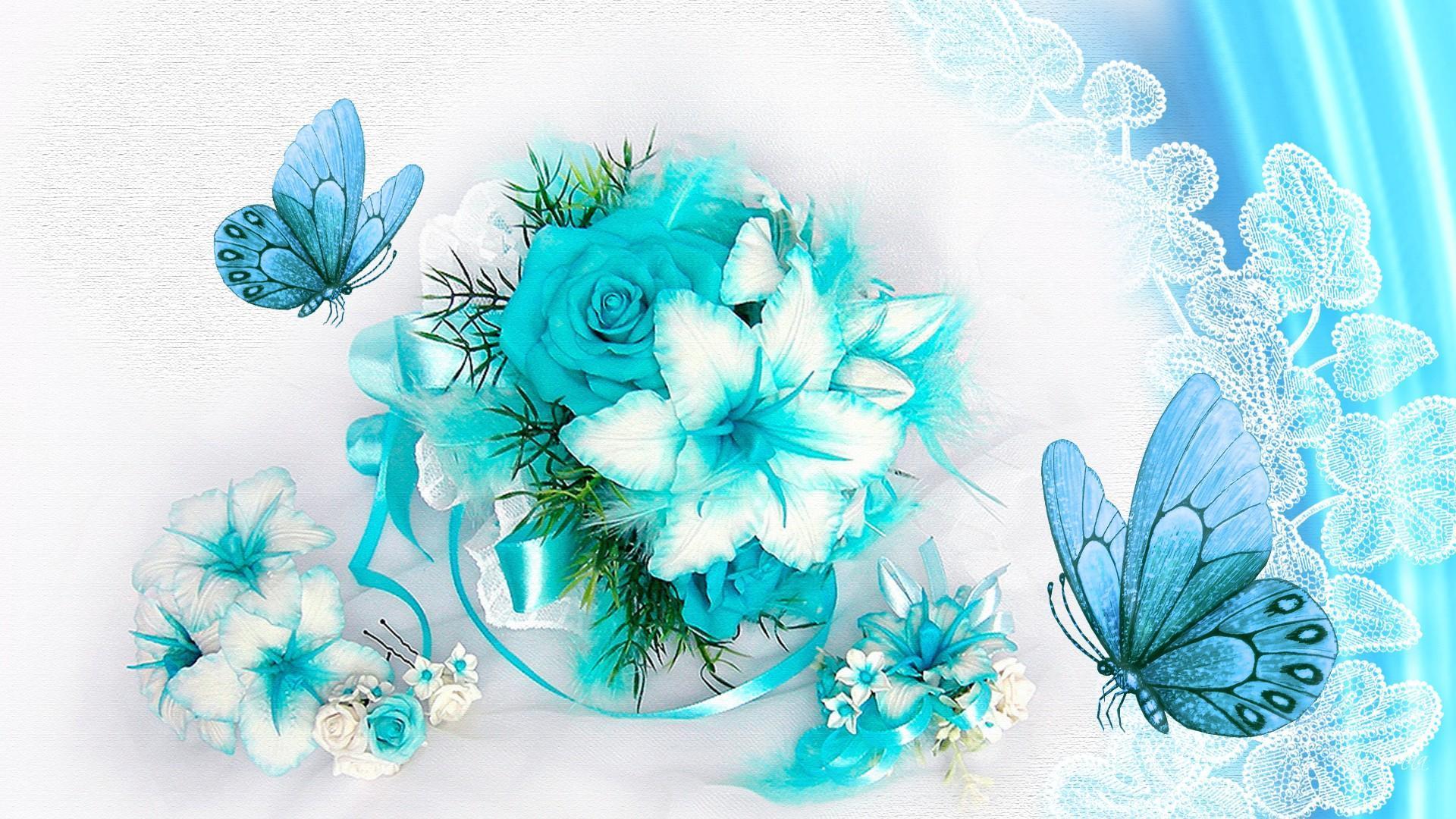Flowers And Butterflies Fondo De Pantalla Hd Fondo De Escritorio