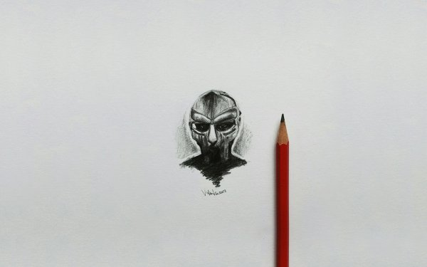Artistic Sketch Minimalist Pen HD Wallpaper | Background Image