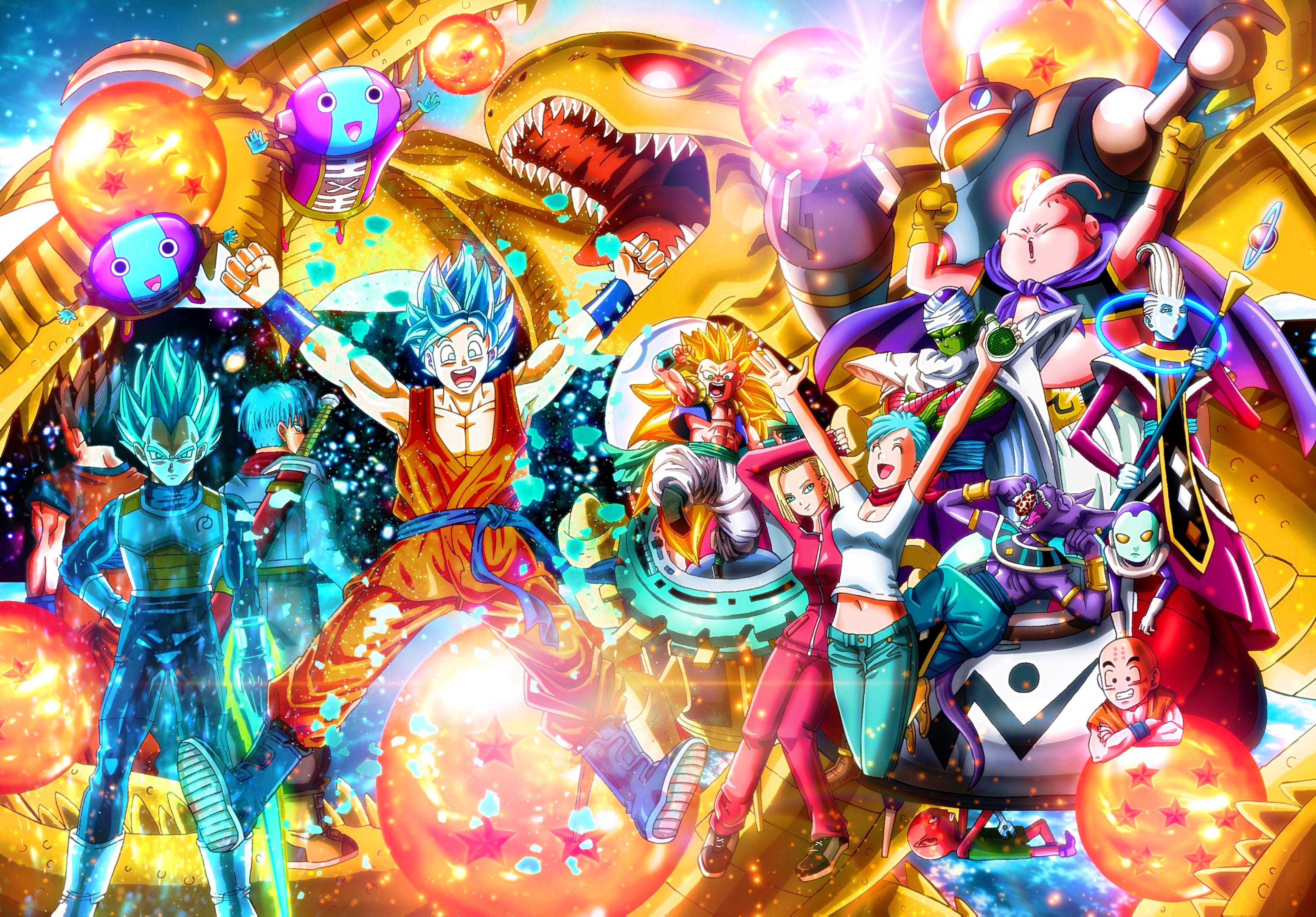 Dragon Ball Super HD Wallpaper | Background Image | 3100x2160 | ID:828897 - Wallpaper Abyss