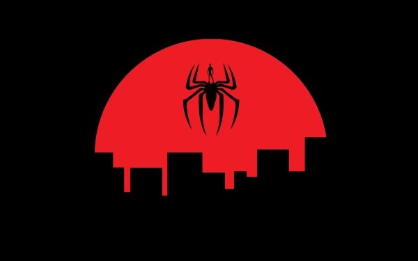 Comics Spider-Man Artistic Minimalist HD Wallpaper | Background Image
