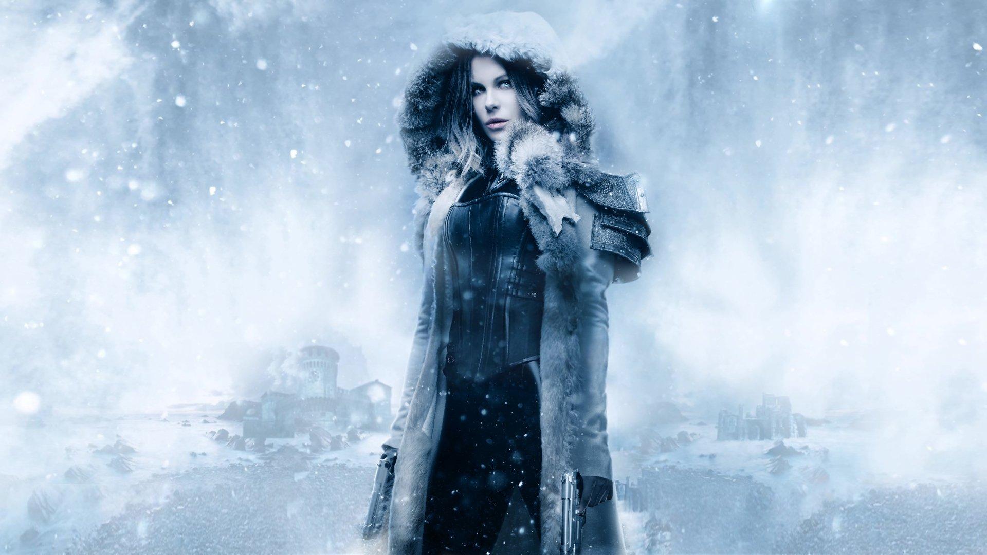 Movie - Underworld: Blood Wars  Selene (Underworld) Kate Beckinsale Wallpaper