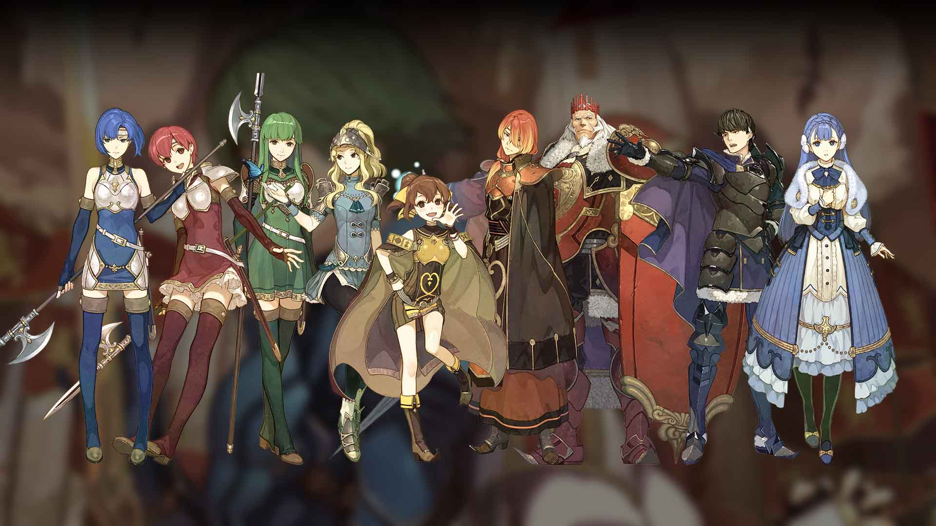 Fire Emblem Echoes Shadows Of Valentia Hd Wallpaper Background