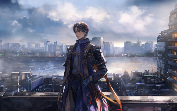 Anime Touken Ranbu Heshikiri Hasebe HD Wallpaper   Background Image
