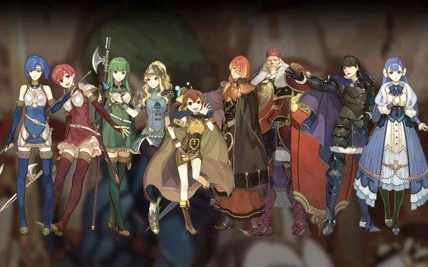 Video Game Fire Emblem Echoes: Shadows of Valentia Palla Est Catria Clair Rudolf HD Wallpaper | Background Image