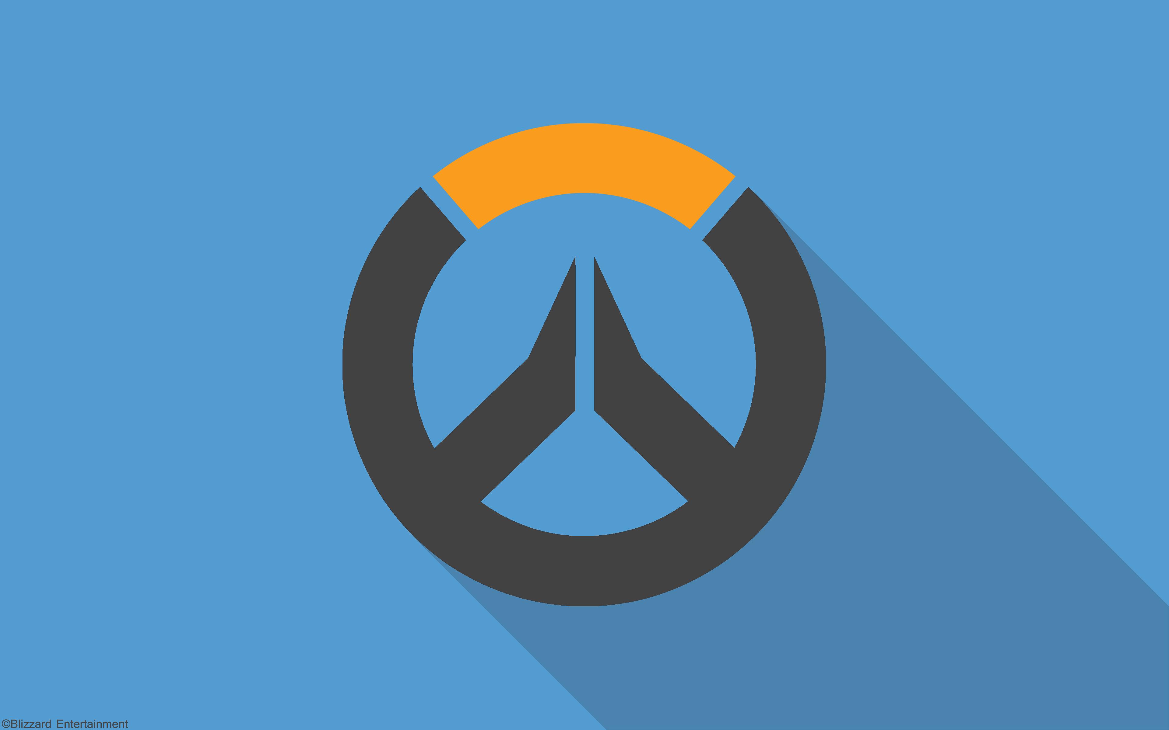 Overwatch In Material Design Blizzard Entertainment 4k