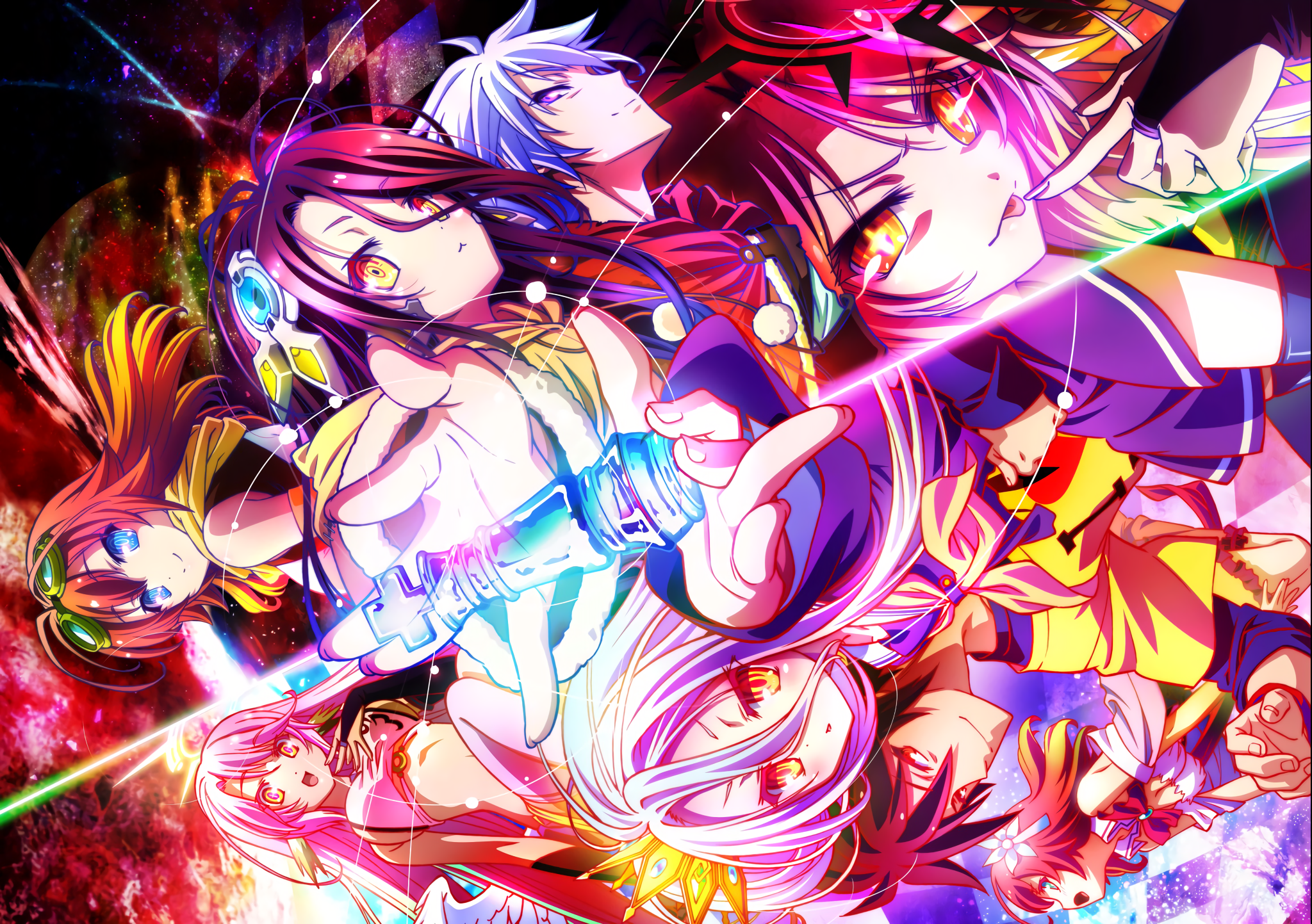 689 No Game No Life Hd Wallpapers Background Images