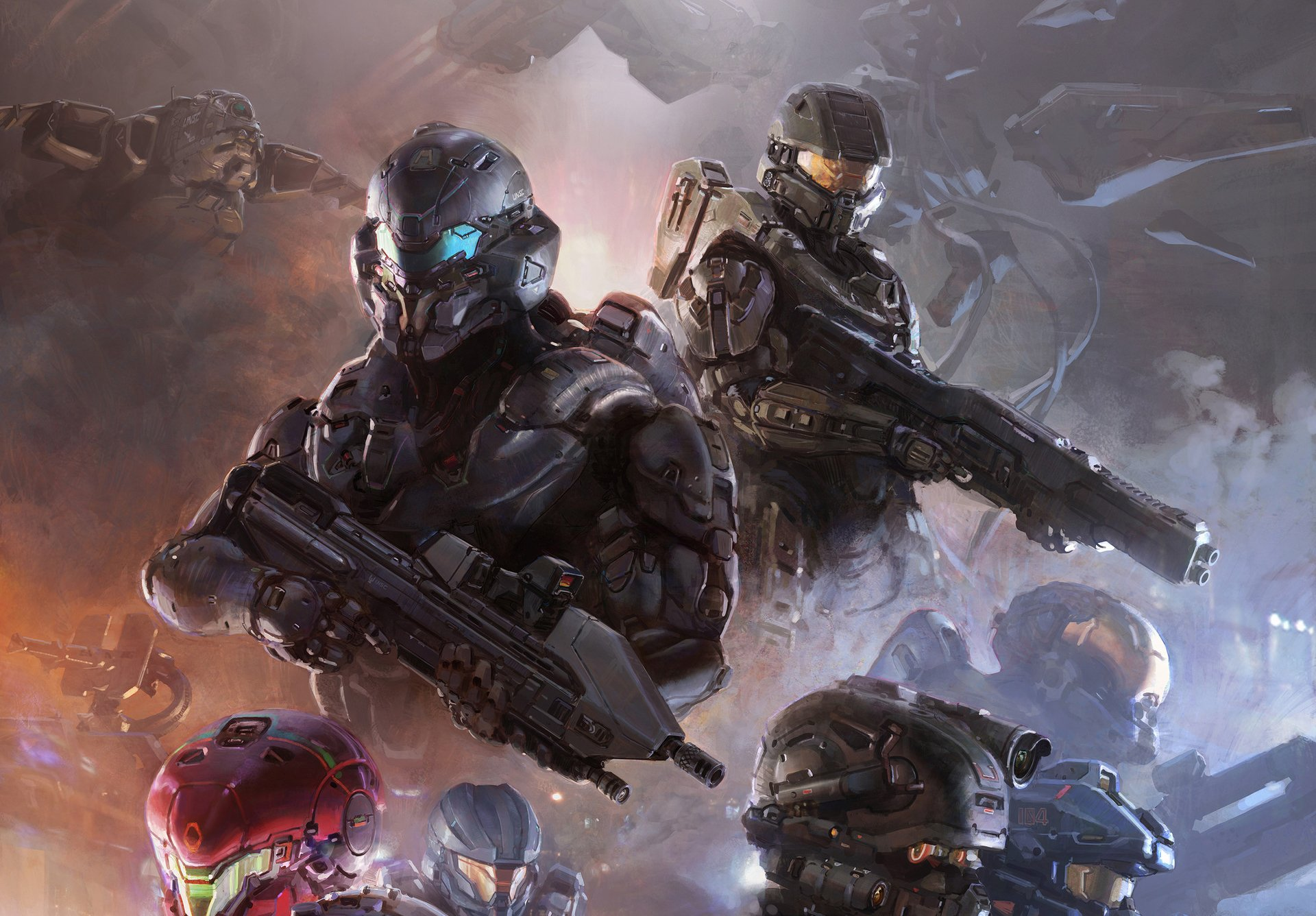 Halo 5 Guardians Hd Wallpaper Background Image 1920x1336 Id