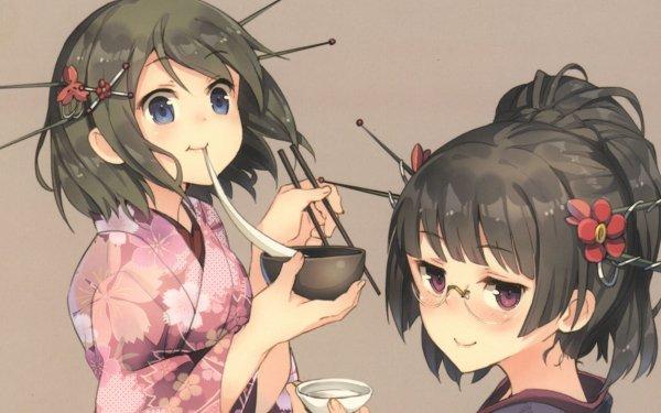 Anime Kantai Collection Choukai Maya HD Wallpaper | Background Image