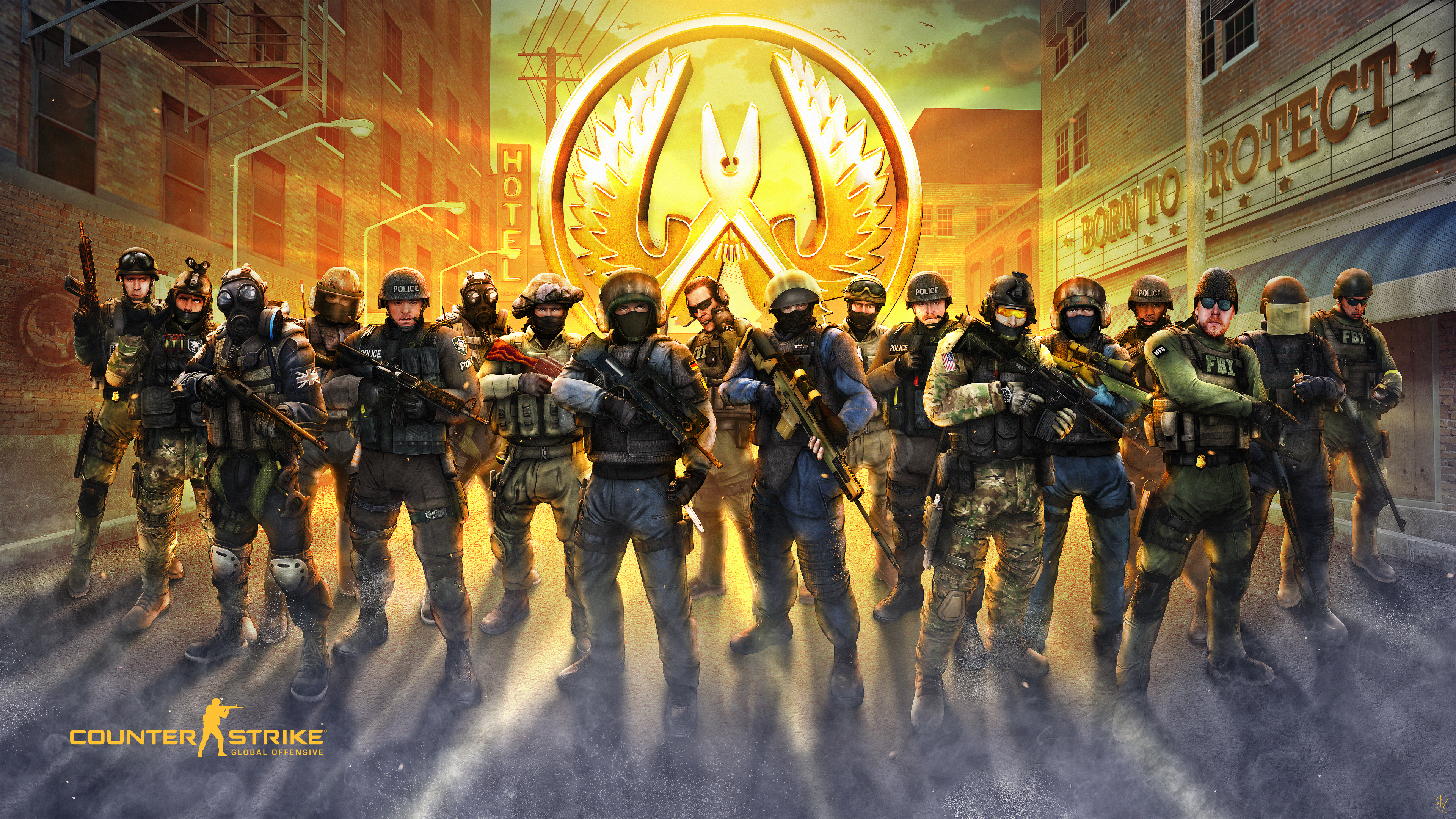 Counter Strike Global Offensive 4k Ultra Hd Wallpaper Background
