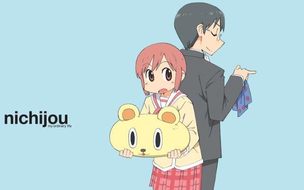 Anime Nichijō Misato Tachibana Koujirou Sasahara HD Wallpaper   Background Image